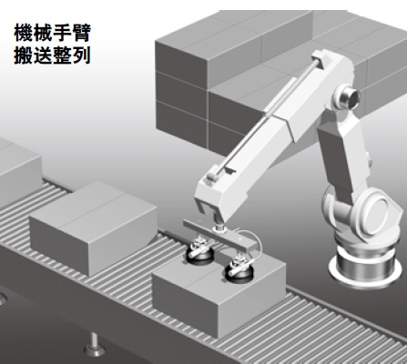 Vacuum system for robot application